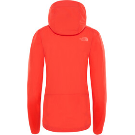 The North Face North Dome Stretch Wind Jacket Women Juicy Red